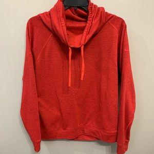 Nike Cowl Neck Sweatshirt Sz L